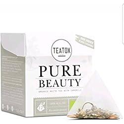 TEATOX Tee weiß Bio Ende mit Kamille für die innere Schönheit 24g