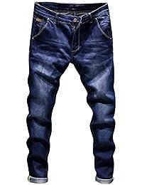 21962a6106 STRIR-Ropa Pantalones Rotos Largos Vaqueros Hombres Vaqueros Pantalones  Hippie Harem Pantalones de Deportivos con