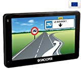 Snooper Ventura CC5200 GPS Eléments Dédiés à la Navigation Embarquée Europe Fixe, 16:9
