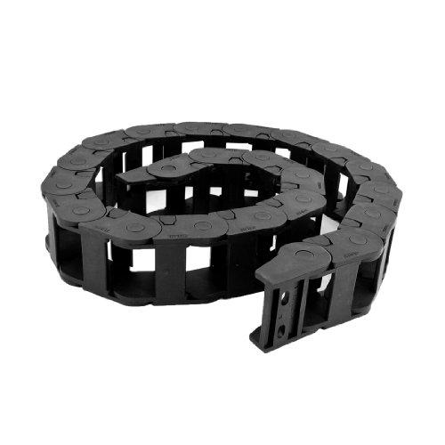 106cm long câble noir fil Transporteur Drag chaîne gigognes 25mm x 38mm