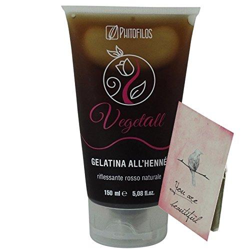 Phitofilos Vegetall Gelatina Riflessante Rosso Henne + Trattamento Yumi Incluso