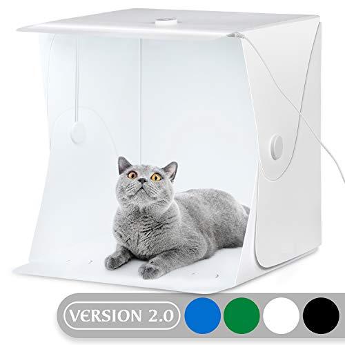 24x24 Pouces 60x60 cm Photo Studio Tente Light Cube Diffusion Soft Box Kit avec 4 Couleurs D/écors Rouge Bleu Noir Blanc pour la Photographie