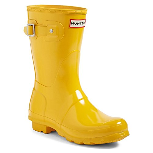 Hunter Damen Low Wellington Boots Gummistiefel Gelb (Yellow/ryl)