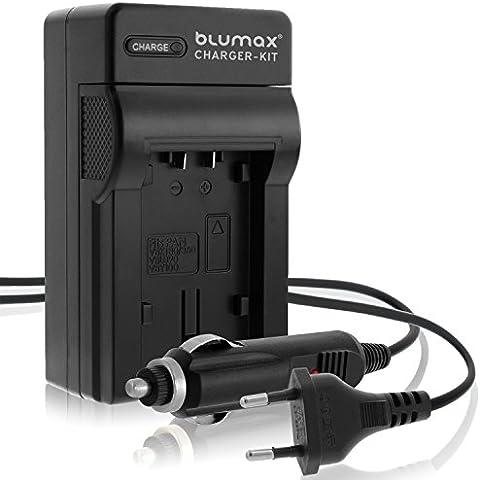 Blumax cargador para Panasonic Lumix MW-BCF10/DMW-BCF10E/CGA-S/DMC-TZ/DMC-ZS/DMC-ZX/DMC-3D1/DMC-ZR/