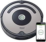 iRobot Roomba 676 WiFi Connected Robot Vacuum - Good for Carpets and Hard Floors - Dirt Detect Technology - 3