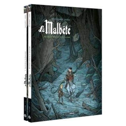 Pack découverte La malbête Volumes 1 et 2 - Volume 1 offert