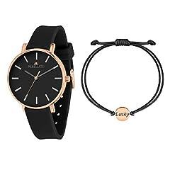 Idea Regalo - Morellato Orologio da donna, Collezione Sensazioni Summer, in acciaio, PVD oro rosa, silicone - R0151158506