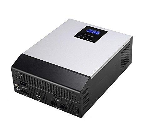 Inversor onda pura Multifunción 3000VA DC24V a AC220V PWM 50Amp Cargador de bateria 30Amp 3 En 1