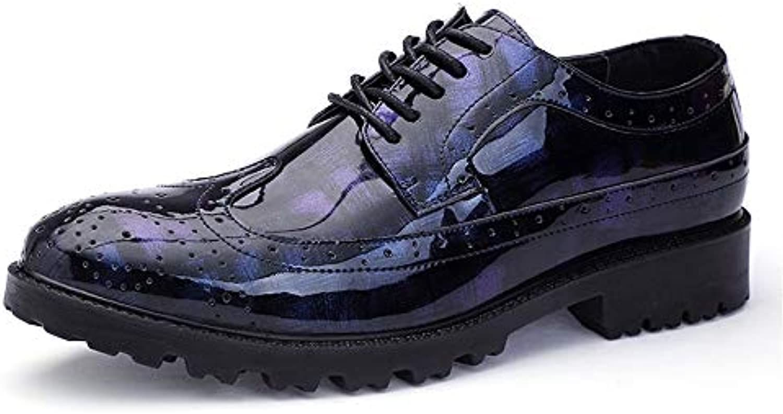 Jiuyue-scarpe, 2018 Abito da Uomo Scarpe da Ginnastica Stringate in Pelle PU Business Flat Oxford Scarpe Uomo Pelle... | marche  | Gentiluomo/Signora Scarpa