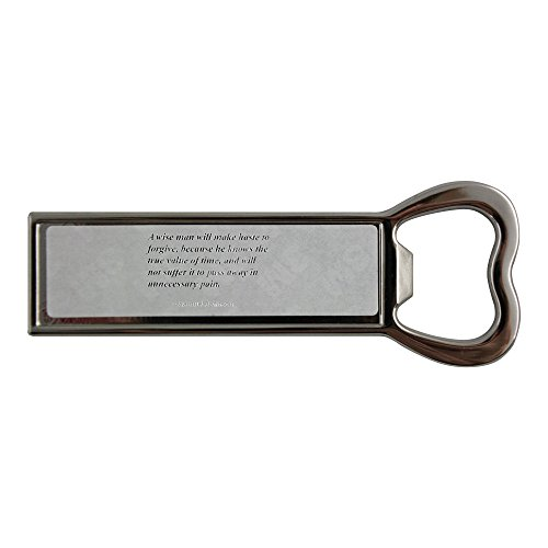 stainless-steel-bottle-opener-and-fridge-magnet-with-a-wise-man-will-make-haste-to-forgive-because-h