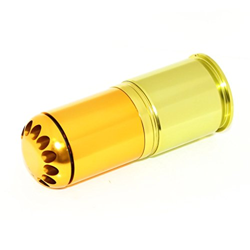 Airsoft Softair Ausrüstung Army Force 120rd 40mm Granate CO2 Granaten Patronenhülse Grenade Cartridge Shell (Bb Granate)