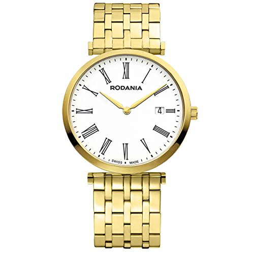 Rodania 25056-62 - Orologio da polso da donna colore oro