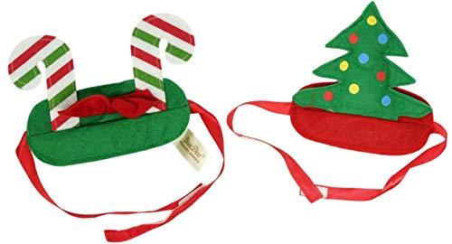 Dan Dee Collectors Choice Hunde-Kostüm, Weihnachts-Stirnband, 2 (Machen Sie Einen Weihnachtsbaum Kostüm)