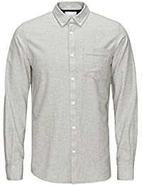 Jack & Jones Jcohamilton Shirt L/S One Pocket, Chemise Business Homme