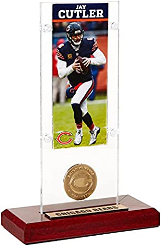 NFL Chicago Bears Jay Cutler Ticket & Bronze Coin Ticket