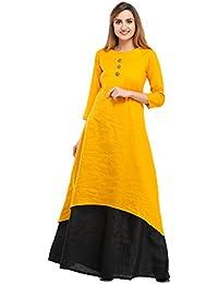 Cottinfab Women's Silk Kurta