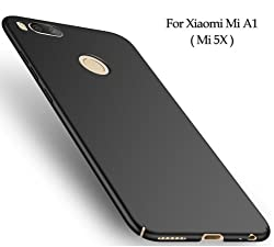 All Sides Protection 360 Degree Sleek Rubberised Matte Hard Case Back Cover For MI A1 - Android One