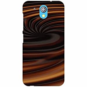 HTC Desire 526G Plus Phone Cover-Mix Chocolate Matte Finish Phone Cover