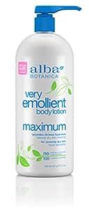 Alba Botanica - Natural Very Emollient Body Lotion Maximum Dry Skin Formula - 32 oz. (907 g)