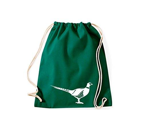 Shirtstown, Sac de gym Animaux Faisan, oiseaux Vert - Vert