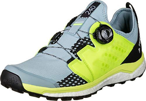 adidas Damen Terrex Agravic Boa W Cross-Trainer, Grau Ash Grey S18/Solar Yellow/Core Black, 39 1/3 EU