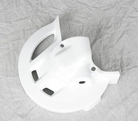 Protector de disco delantero HO02684-041 Color Blanco