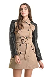 Kazo Womens Trench Jacket (108307CAMELL)