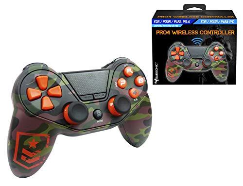 Mando inalámbrico camo FPS accesorio gaming para PS4/PS4 Slim/PS4 Pro/PC/PS3