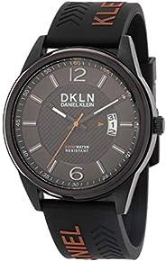 Daniel Klein Analog Black Dial Men's Watch-DK.1.124