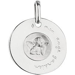 1000 médailles de baptême Médaille Mon Ange Gardien (Argent)