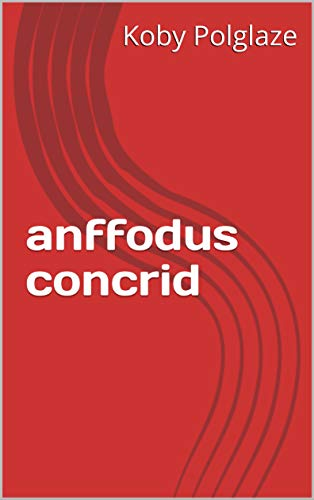 anffodus concrid (Welsh Edition)