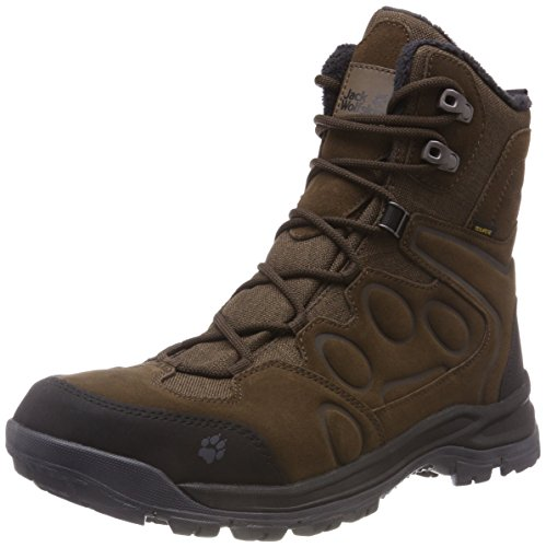 Jack Wolfskin Thunder Bay Texapore High M, Chaussures de Randonnée Hautes Homme, Marron, 47 EU