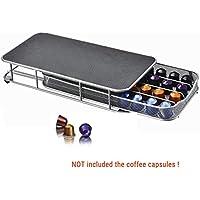 Soporte organizador de 4 filas para 40 cápsulas de café ...
