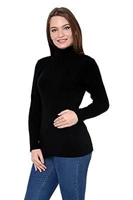 Renka Black Color winter Pullover for Women