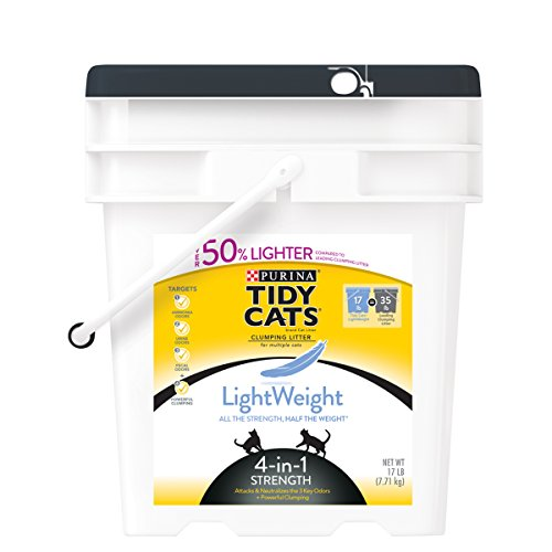 tidy-cats-cat-litter-clumping-4-in-1-strength-lightweight-17-pound-pail-by-purina-tidy-cats