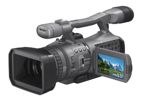 Sony HDR-FX 7 (HDV 1080i, 20-fach opt. Zoom, 8,9 cm (3,5 Zoll) Clear Photo LCD plus Monitor), - Sony 20 Hdr