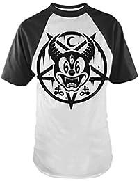 MICKEY 666 Herren Baseball T-Shirt