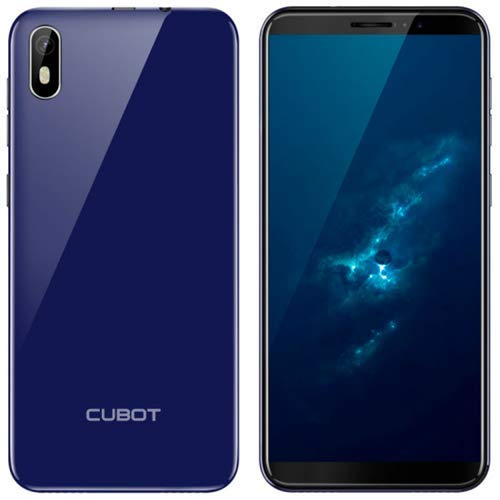 CUBOT J5 16GB Handy, blau, Blue, Dual SIM, Android 9.0 (Pie)