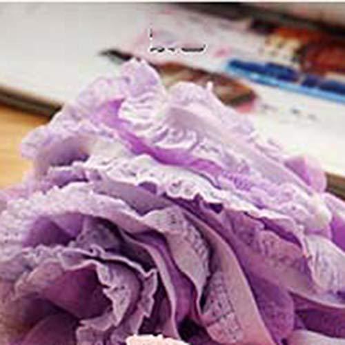 Spitzenkante Badkugel Haut Handtuch Wäscher Körperreinigung Bad-Accessoires -