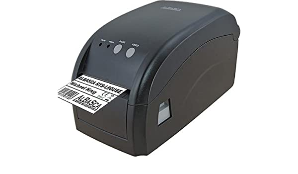 Endlos Bondruck m/öglich USB /& Ethernet//Netzwerk 80mm Druckbreite Thermodrucker Etikettendrucker ALBASCA/® RTS-L80USE