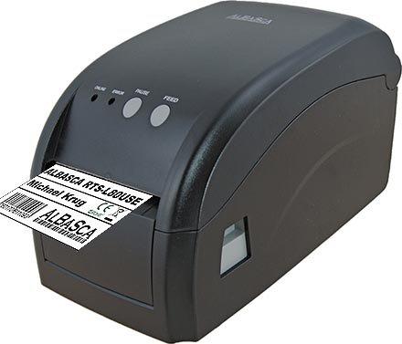 Thermodrucker Etikettendrucker ALBASCA® RTS-L80USE | USB & Ethernet/Netzwerk | 80mm Druckbreite | Endlos Bondruck möglich (Netzwerk-thermodrucker)