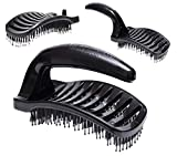 Der Power Styler Detangle Brush # 1 BEST Entwirrungsbürste - Detangler Haarbürste für nasses, trockenes, feines, dickes und Kinderhaar. Keine weitere Verwicklung!