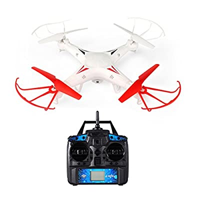RC Quadcopter drone with 0.3MP HD Camera,FPVRC X5G 2.4G Headless 3D Flip Flying Airplane One key Home Remote Control Helicopter from Fpvrc
