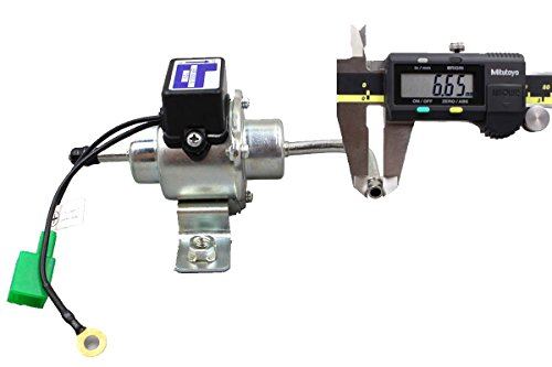 Image of GooDeal® 12V Universal Low Pressure Gas Diesel Electric Fuel Pump 1/4 Tubing 3-5 PSI