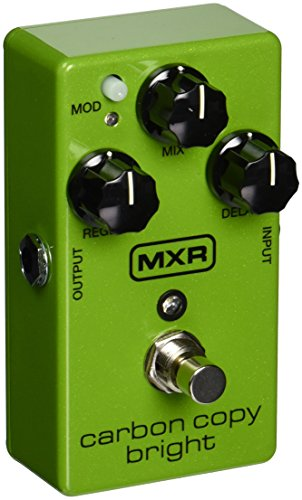 Dunlop  M-269se mxr innovations  Carbon copy bright  Analog delay