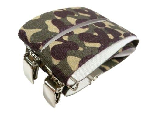 Bretelles entièrement réglable pour les enfants 1-5 ans avec des Motifs Imprimé camouflage