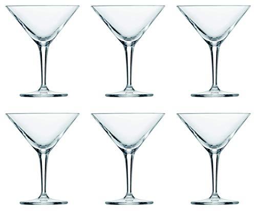Schott Zwiesel Basic BAR Selection 6-teiliges Classic Set Martiniglas, Glas, transparent 34.8 x 23.7 x 14.5 cm, 6-Einheiten