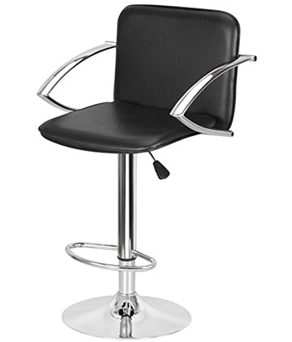 MBTC KBC Cafeteria Chair / Bar Stool / Office stool In black