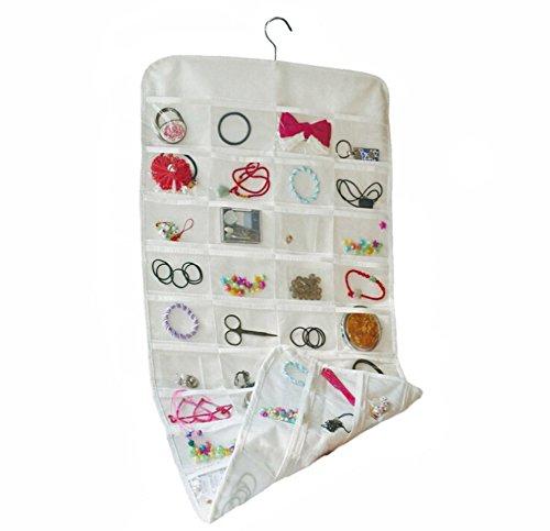 ngende tasche, Halskette Zubehör Schmuck taschen, Doppelseitige aufbewahrungstasche-B 46*110cm(18x43inch) ()