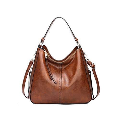Abenddämmerung Fort Frauen Handtaschen Luxus Schultertaschen Umhängetaschen,Braun,(20 cm-30 cm) (Hand-taschen Unter 20 Dollar)